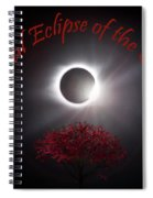 Total Eclipse Of The Sun In Art Spiral Notebook