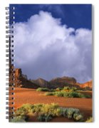 Totem Pole Monument Valley Spiral Notebook