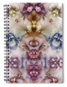 Totemic Isotropy Spiral Notebook