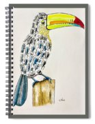 Toucan - You Are What You Eat Spiral Notebook
