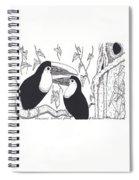 Toucans Central Park Spiral Notebook