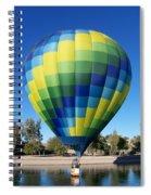 Touch Down Spiral Notebook