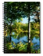 Touch Of Autumn Spiral Notebook