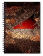 Touch Of Brown Spiral Notebook