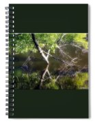 Touch Of Silence Spiral Notebook