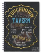 Touchdown Tavern Spiral Notebook