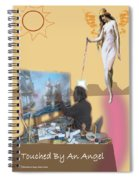 Touched By An Angel Spiral Notebook