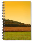 Touched By Golden Light - Battlefield Orchards Spiral Notebook