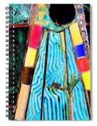 Touching My Toes Spiral Notebook