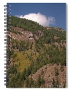 Touching The Clouds Spiral Notebook