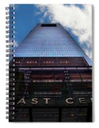 Touching The Sky - Comcast Center Spiral Notebook