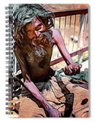 Tough As It Gets...paint Spiral Notebook