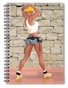 Tough Girl Spiral Notebook