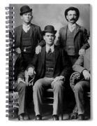 Tough Men Of The Old West 2 Spiral Notebook