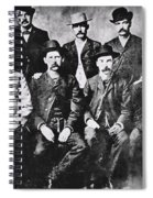 Tough Men Of The Old West Spiral Notebook