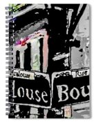 Toulouse And Bourbon Spiral Notebook