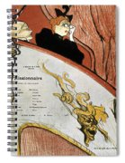 Toulouse-lautrec, 1893 Spiral Notebook