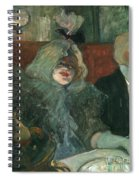 Toulouse-lautrec, 1899 Spiral Notebook
