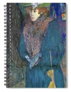 Toulouse-lautrec: J.avril Spiral Notebook