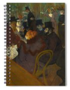 Toulouse-lautrec Moulin Rouge Spiral Notebook