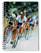 Tour De Force Spiral Notebook