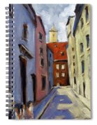 Tour Of The Old Town Spiral Notebook