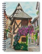 Touring In Eguisheim Spiral Notebook