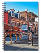 Touring The French Quarter Spiral Notebook