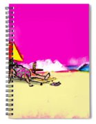 Tourist Lady Spiral Notebook