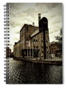 Tourist Office Norrkoping In Old Effect Spiral Notebook