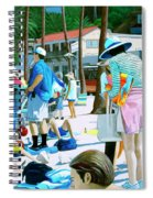 Tourists Spiral Notebook