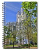 Tours Aillaud Building Spiral Notebook