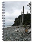 Tow Hill Haida Gwaii Bc Spiral Notebook