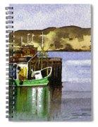 Towards Davaar From Campbeltown Spiral Notebook