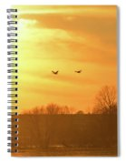 Towards Sunset Spiral Notebook