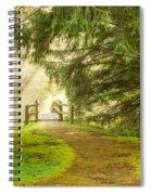 Towards The Light 0020 Spiral Notebook