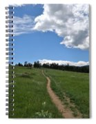 Towards The Sky Spiral Notebook