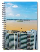 Tower And Guayas River Spiral Notebook
