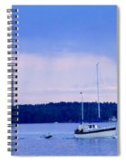 Tower And Masts Spiral Notebook