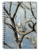 Tower And Trees Spiral Notebook