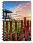 Tower At The Dunes Spiral Notebook