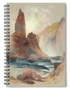 Tower At Tower Falls, Yellowstone Spiral Notebook
