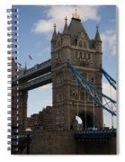 Tower Bridge London Spiral Notebook