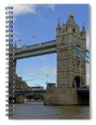 Tower Bridge Spiral Notebook