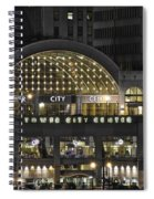 Tower City Close Up Spiral Notebook