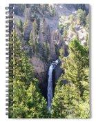 Tower Fall Yellowstone Spiral Notebook