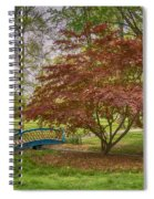 Tower Grove Arched Bridge And Maple Tree Dsc01828 Spiral Notebook
