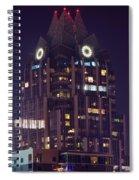 Tower In Austin Texas Spiral Notebook