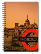 Tower Of London. Spiral Notebook