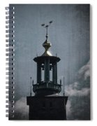 Tower Of Stadshuset  Spiral Notebook